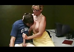 Mother Effectively Handjob on every..
