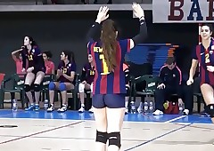 SEXYS bodys overhead volleyball