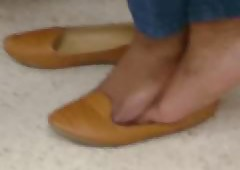 My Friend's Candidly Shoeplay..