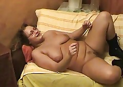 Blistering Obese BBW Previously..