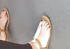scrupulous toes just about..