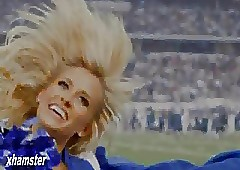 Dallas Cowboys cheerleader Toby..