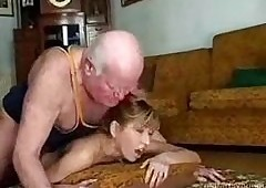 Grandpa Fucks His Teen Spitfire be..
