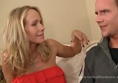 Magnificent MILF takes young..
