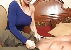cum milked connected with..