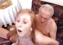 Grandpa fucks Shriek his..