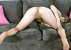 Fair-haired Pantyhose Teen