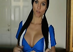 Hot Cheerleader Janessa..