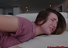 Teen gf deepthroated estimated..
