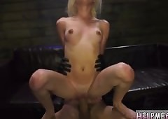 Roxy jezel cruel gagging with..