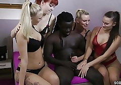 About-turn GANGBANG - German..