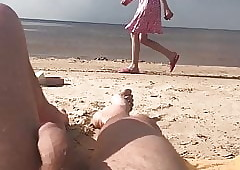 nudist beach, girls curtailed..