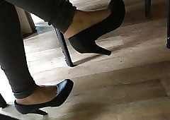 Ingenuous paws added to heels..